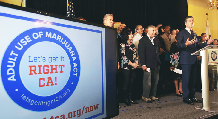 Californians to Vote on Legal Marijuana in November