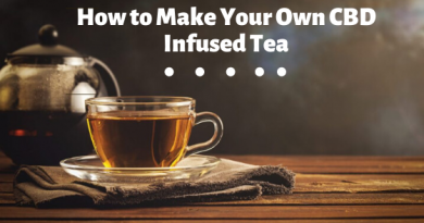 How to Make Your Own CBD Infused Tea