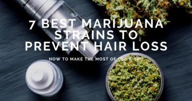 7 Best Marijuana Strains to Prevent Hair Loss