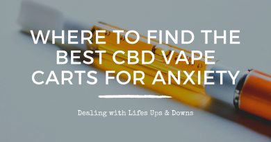 Where to Find the Best CBD Vape Carts for Anxiety